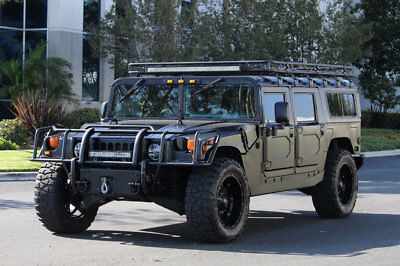 2000 Hummer H1 HMCS 2000 AM General Hummer H1 in Matte Black Full Restoration in 2015 / Must See H-1