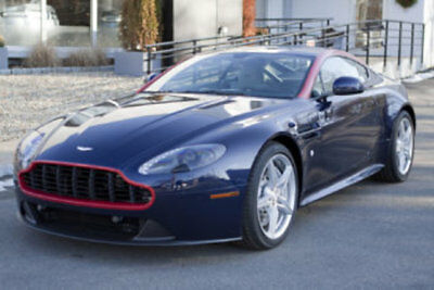 2016 Aston Martin Vantage 2dr Coupe GT 2016 Aston Martin V8 Vantage Coupe GT Mariana Blue Only 167 Miles Manual 6 Speed