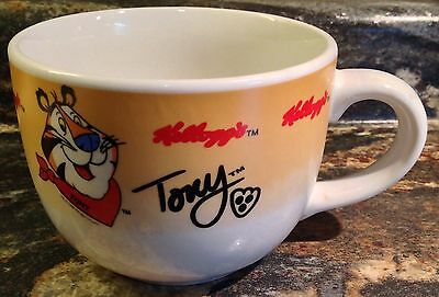 1999 Kellogg's Tony The Tiger Oversized Cereal Mug Cup Gibson They're Gr-R-Reat!