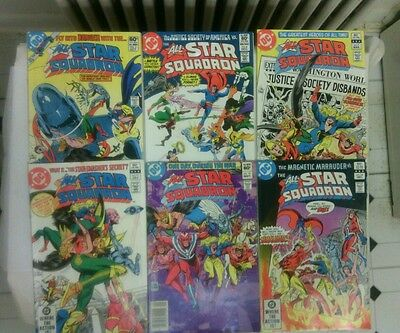 All Star Squadron comic book lot 1! Legendary Heroes of World War 2(DC,1980s)