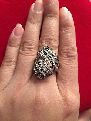 Designer High End Created Diamonds Ring