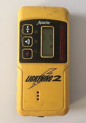 Apache Lightning 2 Rotary Laser Receiver Detector