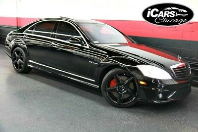2007 Mercedes-Benz S-Class Base Sedan 4-Door 2007 Mercedes Benz S65 AMG 2-Owner 59,539 Miles Night Vision Pano Roof Serviced