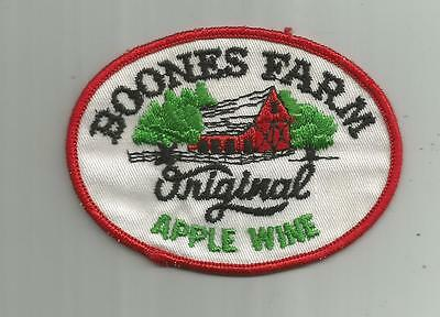 Vintage Boones Farm Original Apple Wine Patch 3 3/4 Inches Wide Unsewn Cooler