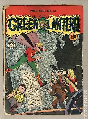 Green Lantern (1941-1949 Golden Age) #13 FR/GD 1.5