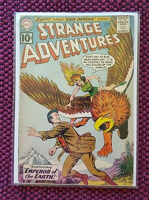 STRANGE ADVENTURES # 131 old vintage comic book from 1961!  Look!