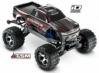 Traxxas Stampede 4X4 VXL Brushless 1/10 4WD RTR Monster Truck (Silver) #67086-3