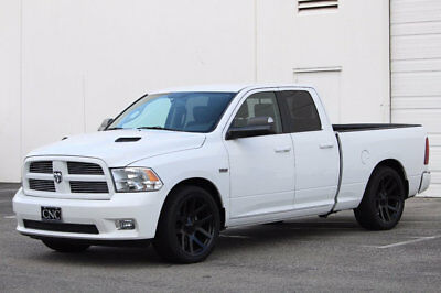 "2012 Ram 1500 2WD Quad Cab 140.5"" Sport 2012 Dodge Ram 1500 Quad Cab Sport 2/4 Lowered with SRT Viper Truck 22 inch Rims"