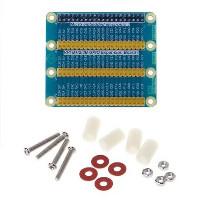 GPIO Expansion Board Raspberry Pi Shield For Raspberry PI 2 3 B B+ W/ Screws