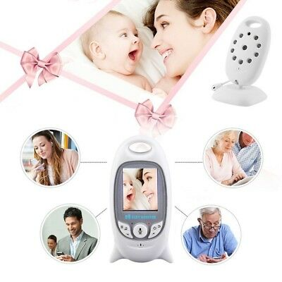 Wireless Digital LCD Babyfone Video mit Kamera Nachtsicht Monitor Babypflege