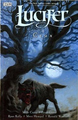 Lucifer Volume 9 Crux by Peter Gross Mike Carey Graphic Novel Paperback