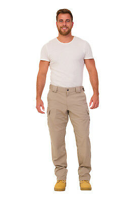 Mens Tactical Combat Cargo Trouser Workwear Hiking Pants 7 colours APX 74434