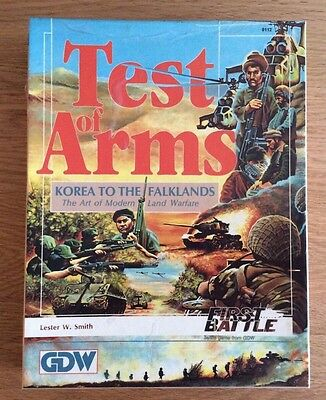 Test Of Arms - First Battle Wargame GDW