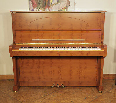 Stunning, 2000, Crown Jewels, Steinway Model K upright piano in satin, yew