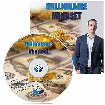 MILLIONAIRE MINDSET HYPNOSIS CD - Mark Bowden Hypnotherapy secret think and grow