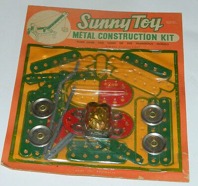 Sunny Toy Metal Construction Kit Australian made