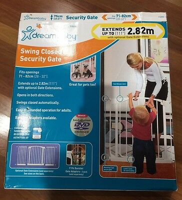 Swing Closed Security Gate- Dreambaby And No-Trap Gate Ramp