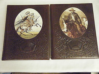 Lot Of 2 Old West Books Time Life -  The Gunfighters And The Great Chiefs 1970's