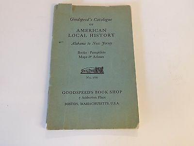 Early 1900's Goodspeed's Catalogue of American Local History Maps & Atlases USA