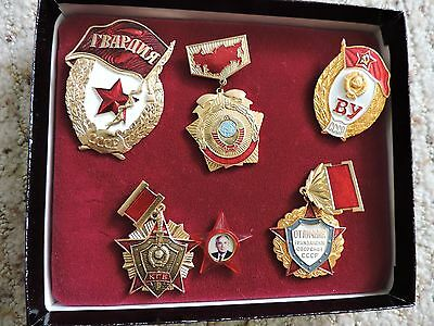 Collector's Commenorative Pins from USSR