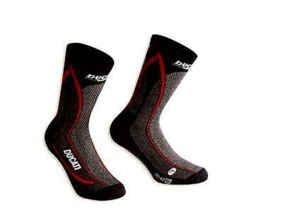 Ducati Cool Down Functional Socks Black NEW