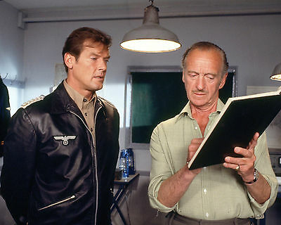 Roger Moore 122 With David Niven (Film Actor Legend) Photo Prints Or Mugs