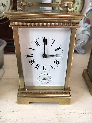 Carriage Clock With Alarm