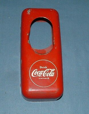 Vintage Coca Cola Bottle Cap Catcher - Action - Used - Made In Usa