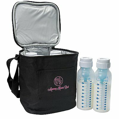 Extra Tall Breast Milk Baby Bottle Cooler Bag For Insulated Breastmilk Storage