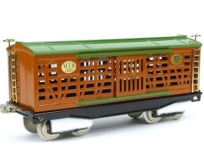 MTH Trains Tinplate Traditions Standard Gauge 200 Series Stock Car 10-203