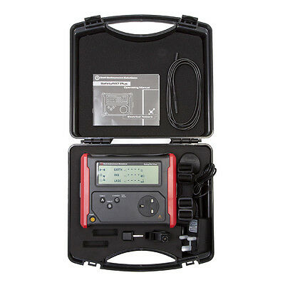 T.I.S Pass/Fail Safety Pat Portable Appliance Tester with hardcase