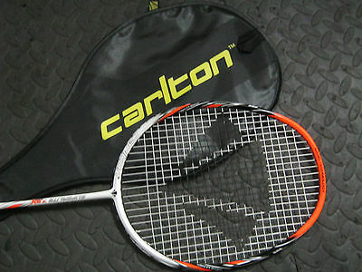 Carlton Badminton Racket New Superlite 7.9X Power & Control 78 Grams Medium Flex