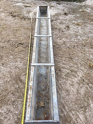 Ritchie 9Ft Galvanised Sheep Feed Trough Cattle