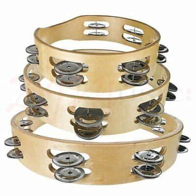 Tiger Tambourines Headless Double Row