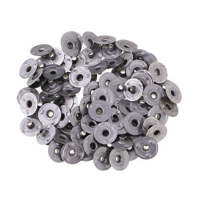 200x Metal Wick Sustainers/Tabs for Candle Making 6 Sizes Available DIY Supplies
