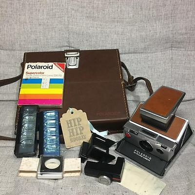 Polaroid SX-70 Camera in Original Case
