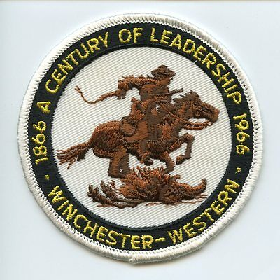 Winchester-Western Western Cartridge Company Centennial Patch