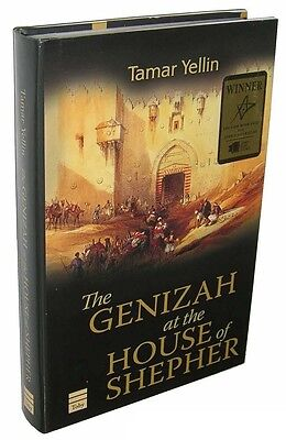 Fine SIGNED 1st 2005 HC/DJ; The Genizah at the House of Shepher by Tamar Yellin