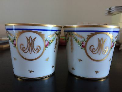 RAYNAUD Limoges Louvre Marie Antoinette Cup Votive Candle Holder Rare Limited