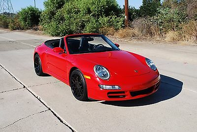 2008 Porsche 911  2008 Porsche 911 Convertible | Beautiful color combo | Very well maintained