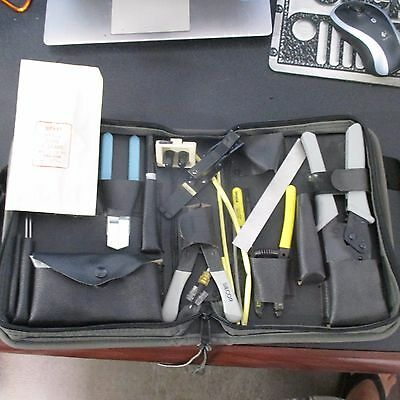 Siecor Fiber Optic Tool Kit with  Zip Up Bag