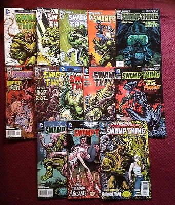 Swamp Thing- The New 52 Lot - #0 -  #12 - Dc - Snyder, Paquette - Nm Condition