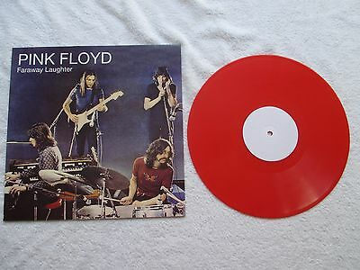 "Pink Floyd ""faraway Laughter"" Ltd Ed Red Vinyl Press New & Mint"