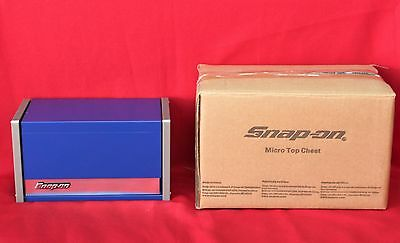 Snap On Royal Blue Mini Micro Top Chest Tool Box  Brand New !