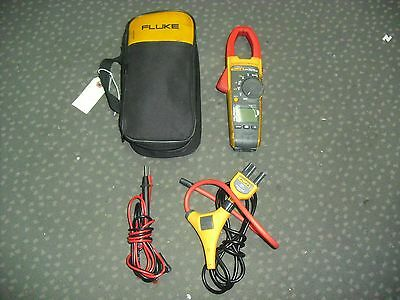 FLUKE 376 TRUE RMS CLAMP METER W iFLEX i2500-20 CURRENT TESTER FREE SHIPPING