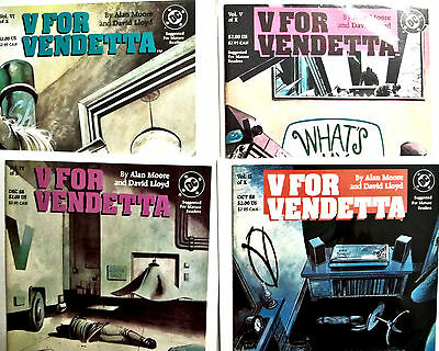 V For Vendetta lot of 8 books - OPG $80