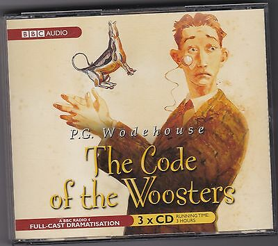 P G Wodehouse  The Code Of The Woosters  3Cd Bbc Full-Cast Drama Audiobook