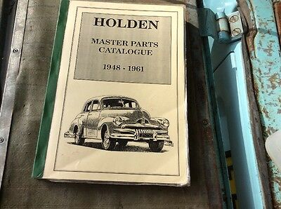 Holden Master Parts Catalogue 1948-1960