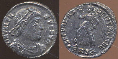 Valens Æ3 2.35 gm Victory. One of the most Ironic coins in history! Lovely!