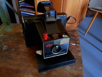 Retro Polaroid Zip Land Instant Camera Funky Exc. Condition....!!